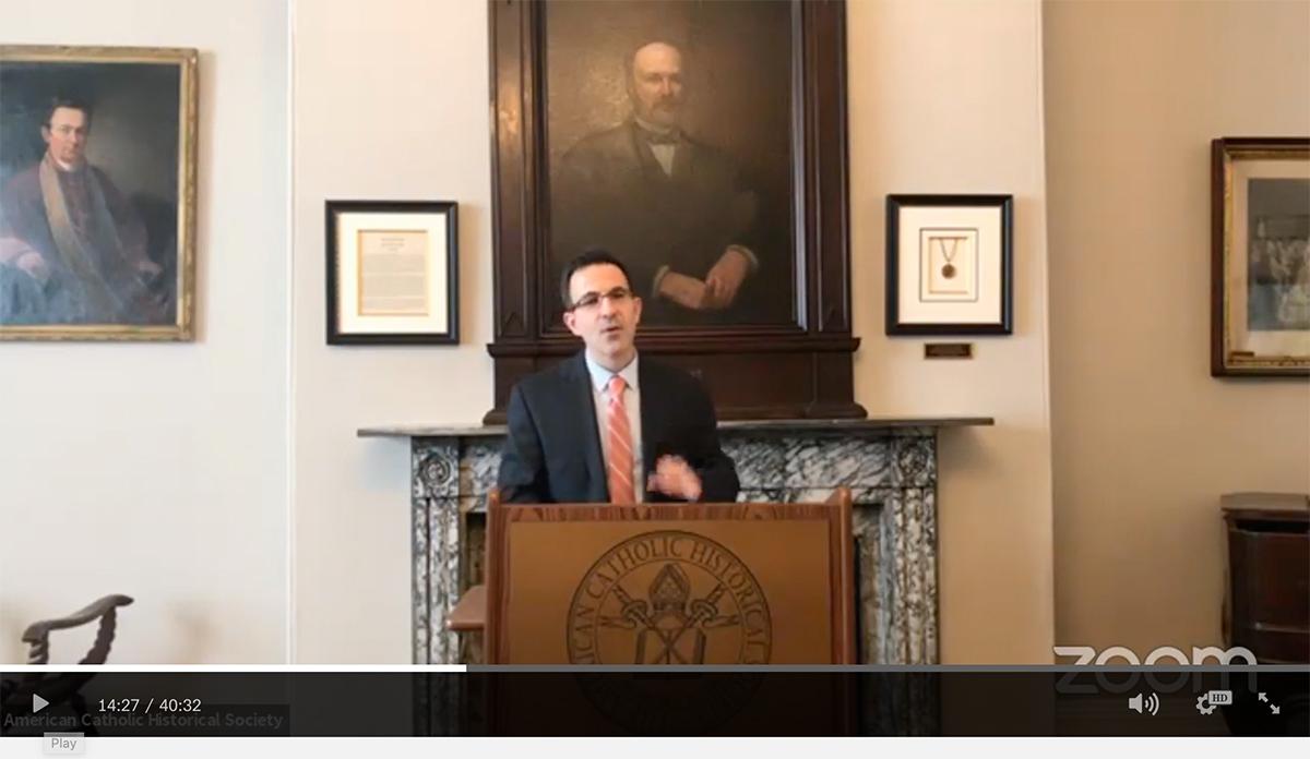 Dr Lawrence Flick presentation